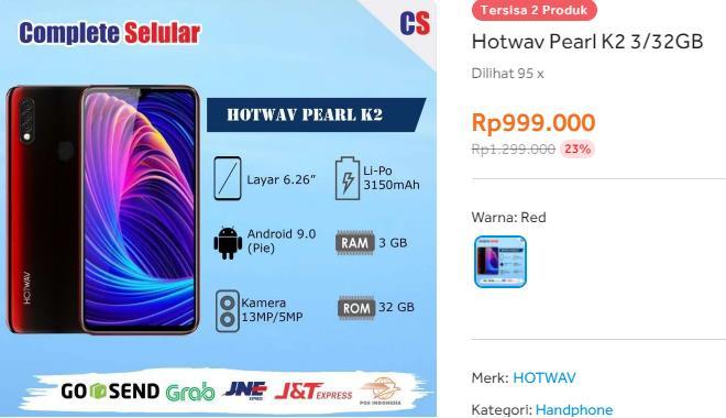 hp fullscreen murah 2021